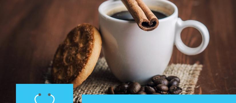 إضافة القرفة على القهوة