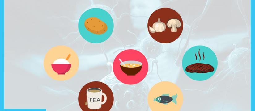 يوجد 8 أغذية رئيسية لتقوية جهاز المناعة الخاص بك