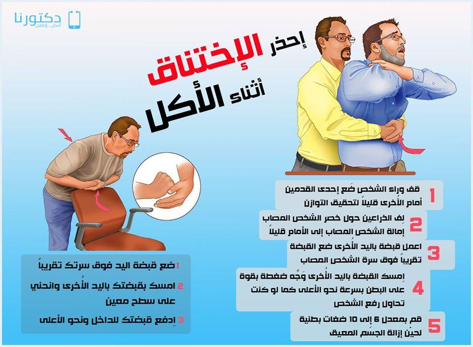 إحذر الإختناق أثناء الأكل !