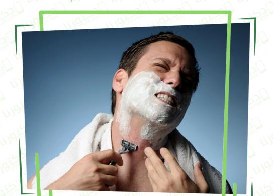 أسباب التهاب الجلد بعد الحلاقة :