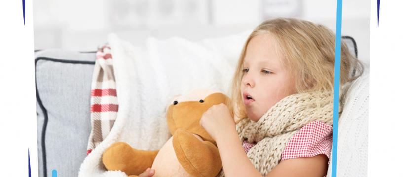 علاج كحة الطفل